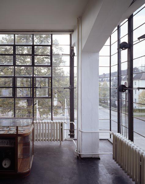 Bauhaus building.