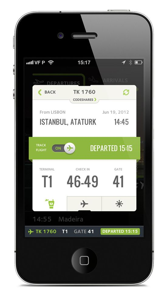 Flight Tracking UI