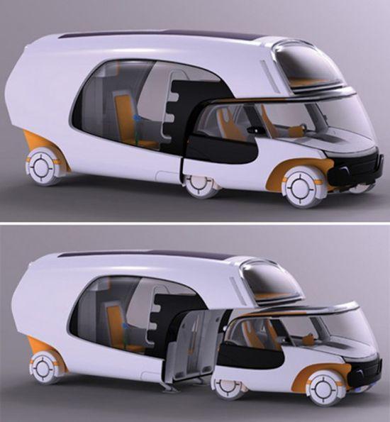 smart car + camper
