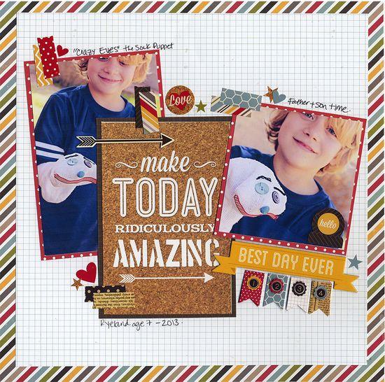 Make Today Amazing - Scrapbook.com