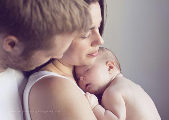 family + newborn