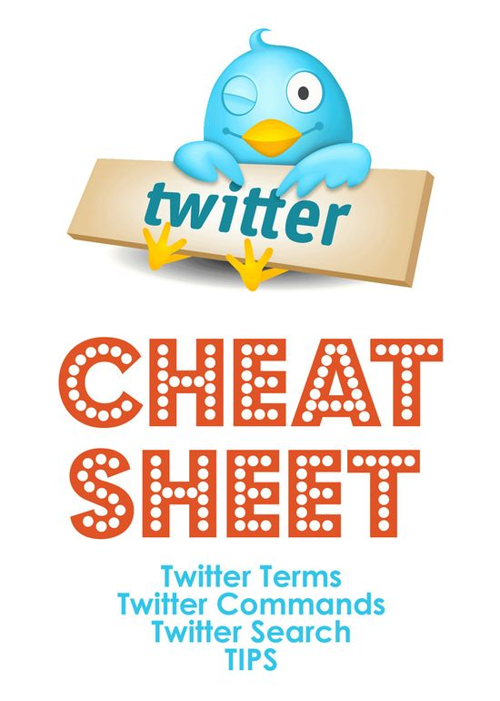 "Twitter ""Cheat Sheet"""