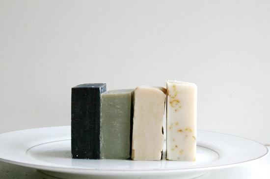 Travel Soap 4 Natural Soap Bars Handmade by ElegantRoseBoutique