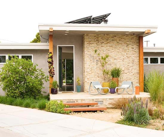 Get Inspired by Materials in Place of Paint Exterior and interior house design by  Donna Whelan for Relics Design, LLC. Costa Mesa, California