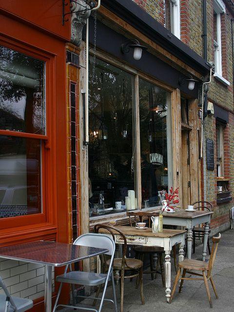 Campania Cafe, Columbia Road, London