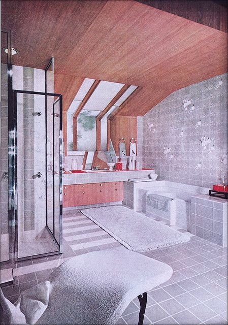 1955 Ultra Modern Bathroom by American Vintage Home, via Flickr