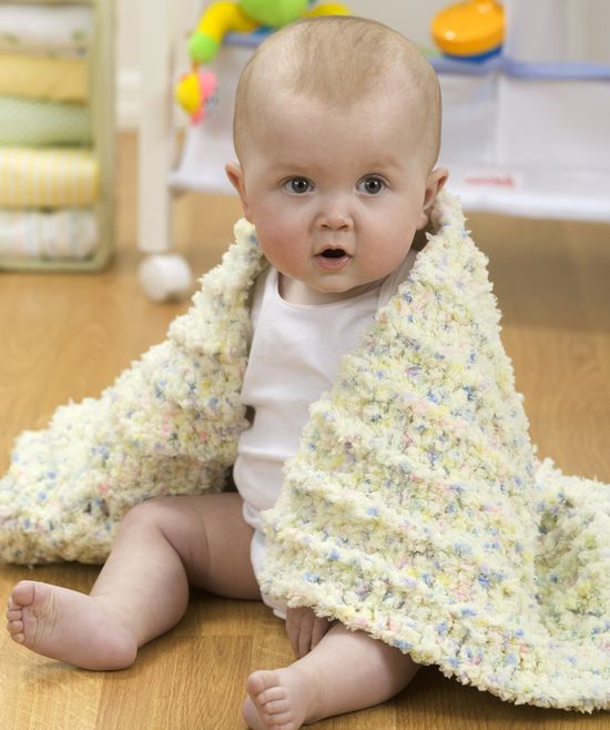 """Free pattern for """"Coziest Baby Blanket Ever""""!"""