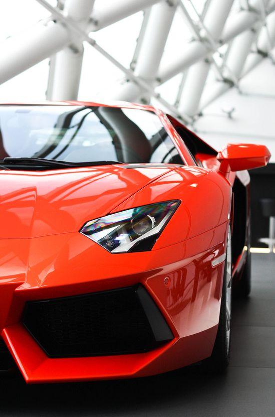 Red Aventador #CarFlash