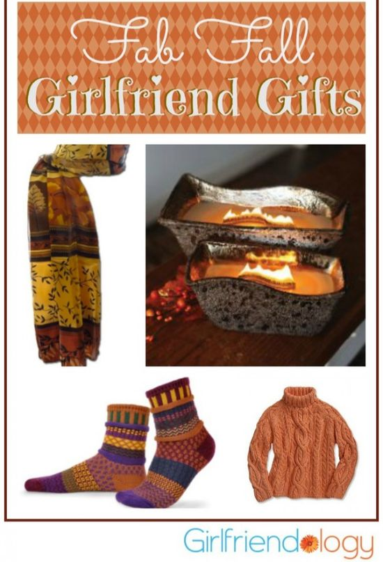 What's your favorite girlfriend gift to give or receive? Here's our fave fab fall girlfriend gifts.