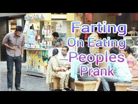 Farting on Eating Peoples Prank