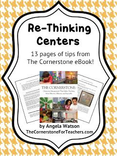 Classroom Freebies Too: How to make learning centers simple and meaningful
