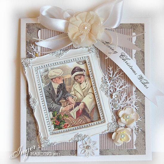 Creamy Elegance Christmas Card...