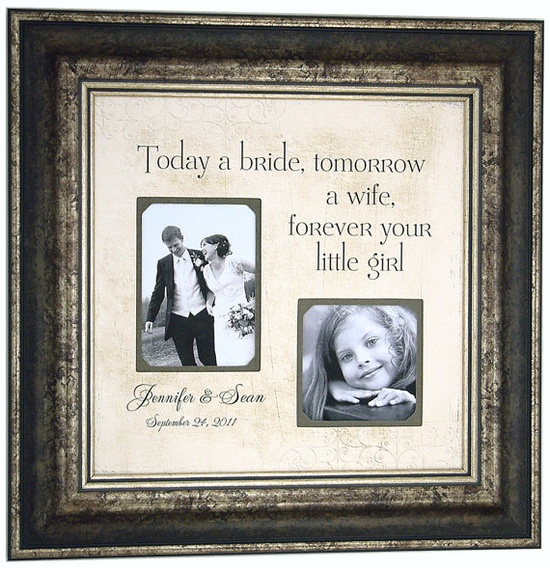 forever your little girl... great gift idea for father of the bride!