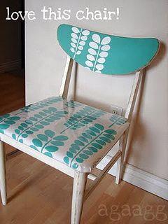 Acacia Stencil furniture makeover!