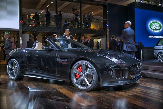 Jaguar F-Type, Black wonder! For your chance to win a supercar driving experience of a lifetime click on this jag!