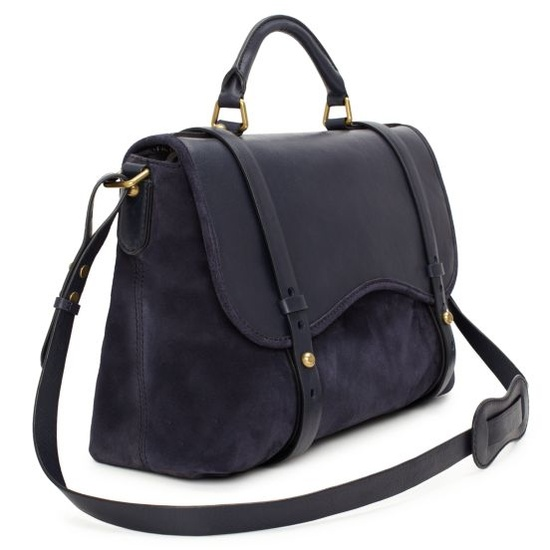 """This beauty would solve """"my dark blue jeans staining my pretty purses"""" issue.  It would also absolve me ability to pay my rent this month. ;)  #Kate Spade #Current Elliot"""