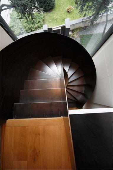 Casa C - Lecco, Italy - 2011 - Gianluca Fanetti #architecture #design #stair