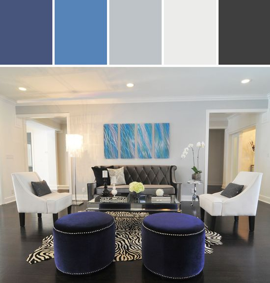 Modern Living Room Designed By Wayfair via Stylyze