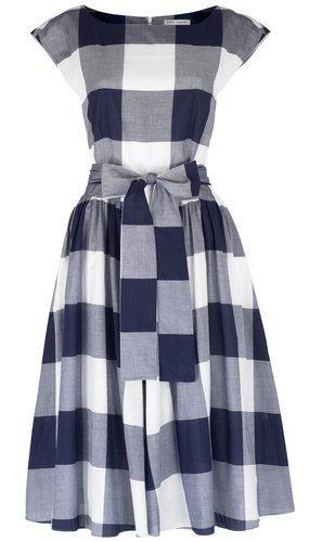 Laura Ashley gingham dress
