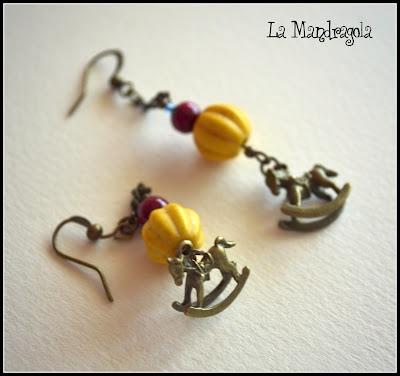 #handmade #earrings #autumn