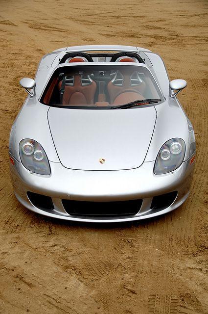 Silver car Carrera GT Open top dream by Ian Jone Photography #wheels #cars #silver