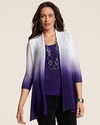 Travelers Collection Dip Dye Mackenzie Jacket