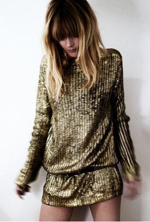 gold knits