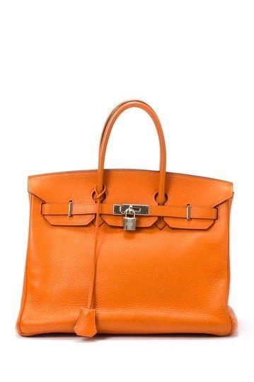 Orange Handbag.