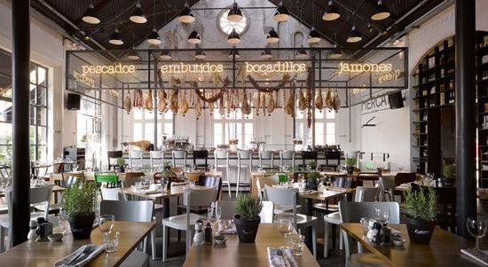 Mercat restaurant by Concrete Amsterdam