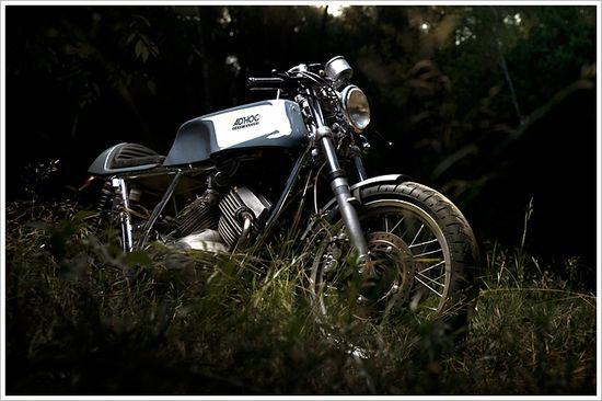 Adhoc's '86 Moto Morini K2 CafeRacer - Pipeburn - Purveyors of Classic Motorcycles, Cafe Racers & Custom motorbikes