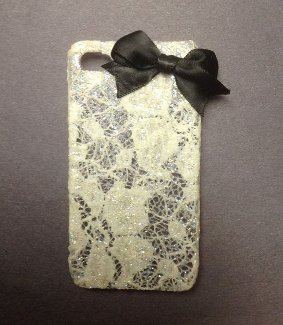 Lace IPhone 4 Case love