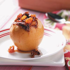 Slow-Cooked Stuffed Apples Recipe from Taste of Home