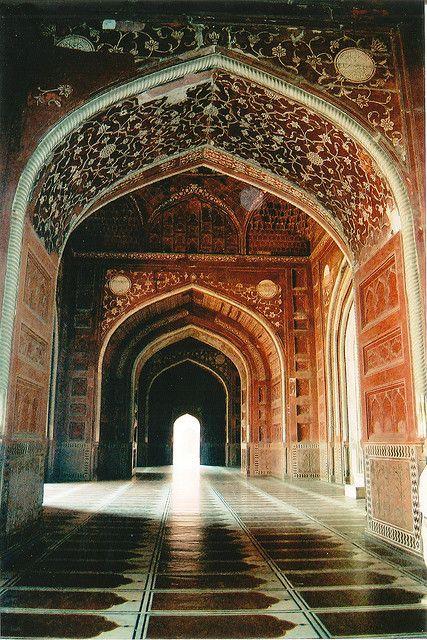 Hindu Temple interior in India. #Hindu #architecture