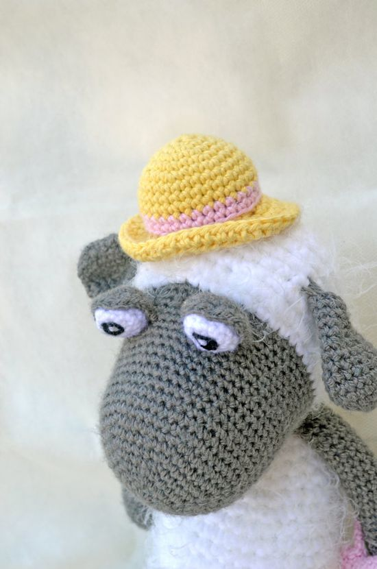 """Crochet Amigurumi Sheep Handmade Plush Stuffed Toy Baby by LEOyarn, $87.00 #teamdream #handmadebot"" #Amigurumi  #crochet"