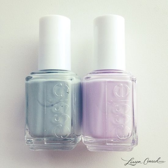 left: maximillion strasse, right: go ginza {love them both!} #polish