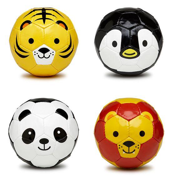 Fun and Cute animal soccer balls from Sfida