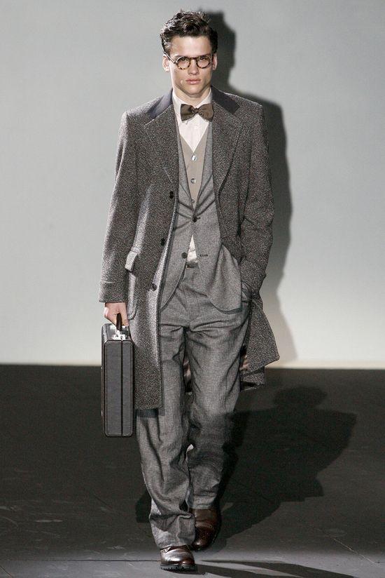 Corneliani - Men Fashion Fall Winter 2011-2012 - Shows - Vogue.it