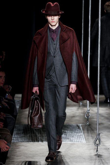 John Varvatos, Fall 2013, Menswear, Garment, Inspiration, Dark Clash