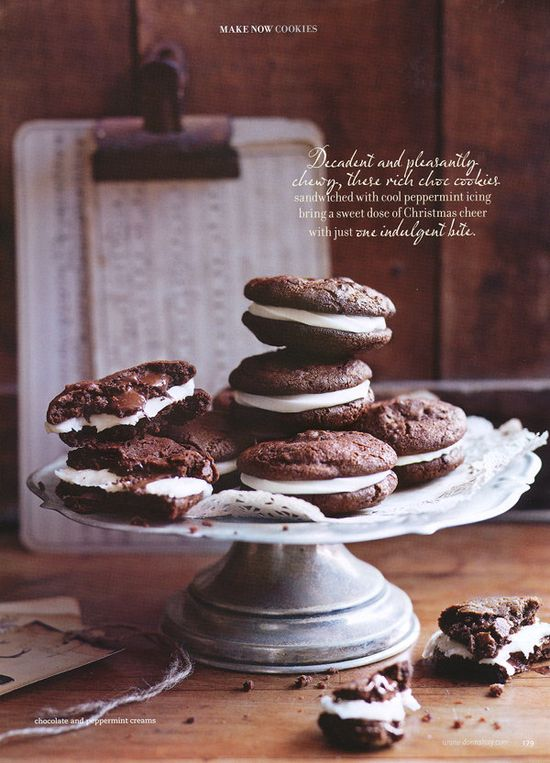 whoopie pies from Donna Hay magazine