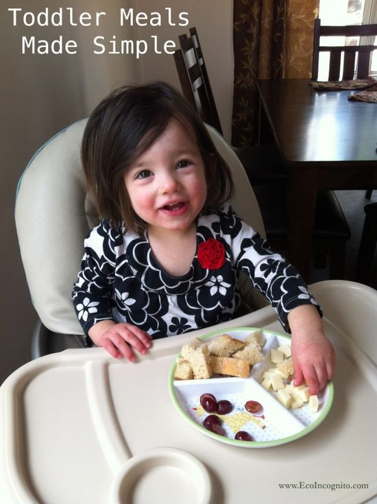 The Perfect No- Cook Recipe for a Toddler Meal