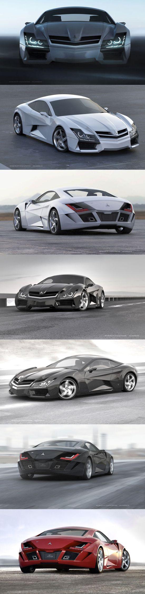 Mercedes super car concept