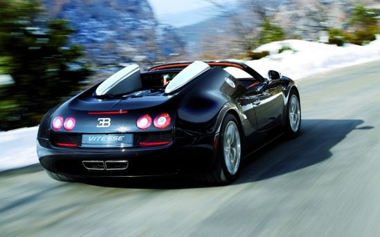 1200-hp Bugatti Veyron Grand Sport Vitesse – Fastest Open Top Car Ever?