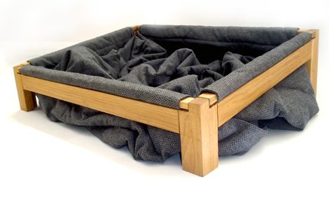 Dog bed so they can dig around in the blankets and get comfy.