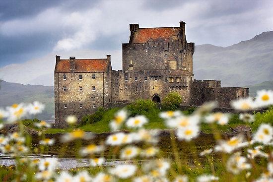 """Eilean Donan Castle, Dornie, SCOTLAND.  """" Highlander """" was filmed here."""