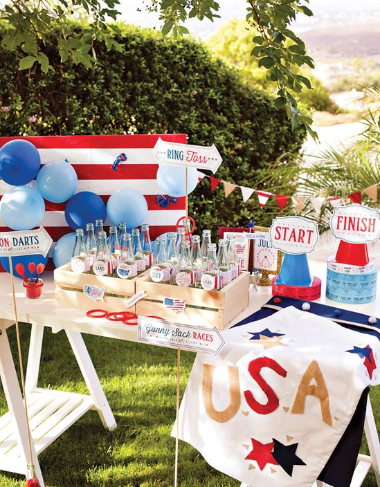 FREE Printables: All-American County Fair July 4th Party - Hostess with the Mostess®