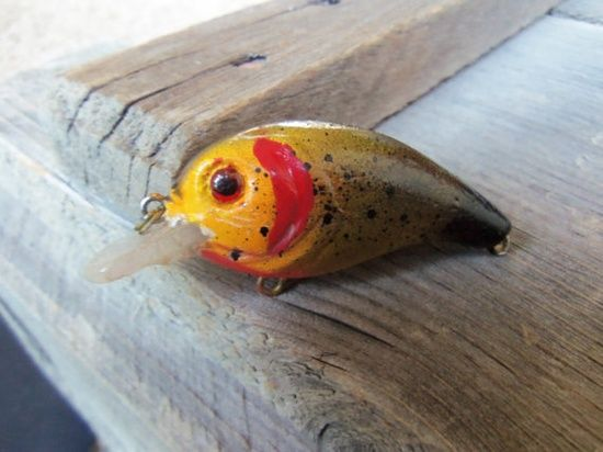 Custom Crankbait Fishing Lure Handmade by CandTCustomLures on Etsy,