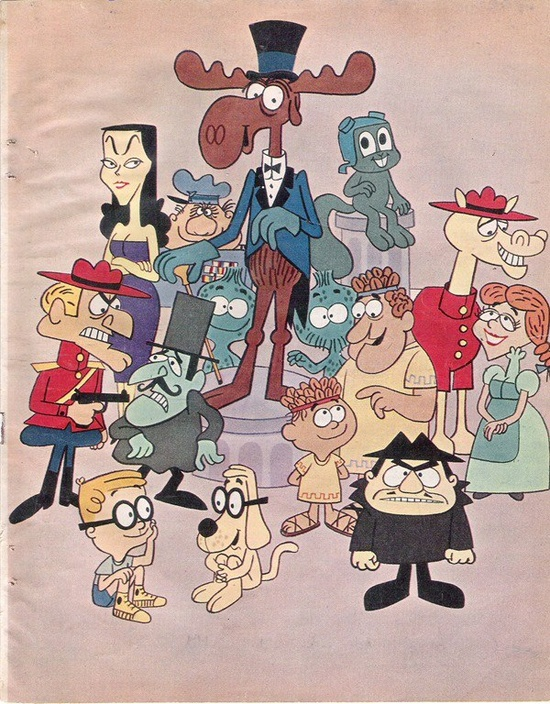 ...The Rocky and Bullwinkle Show...  I loved the Fractured Fairy Tales part of the show.