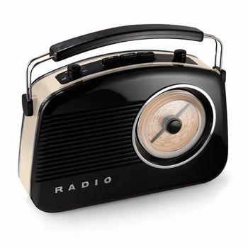 Retro AM/FM Radio and MP3 Speaker, $95