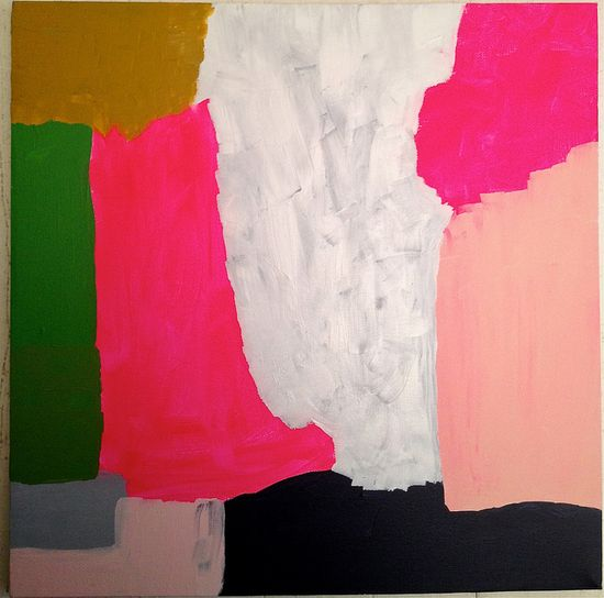 abstract painting by ashleyg, via Flickr