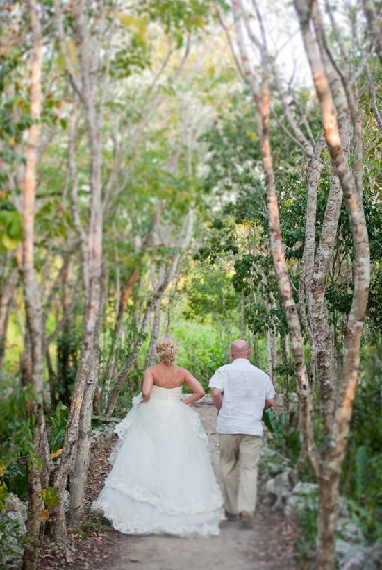bride and groom. Tulum, Mexico.
